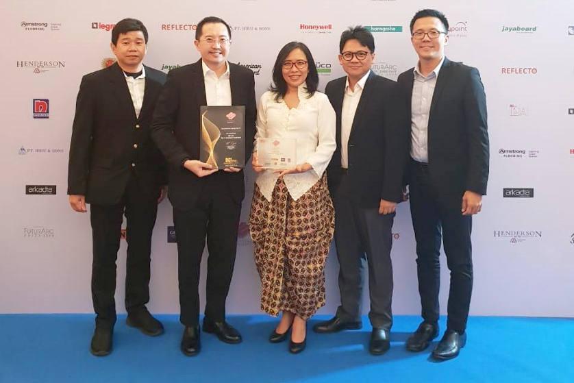 PT Summarecon Agung Tbk Raih Penghargaan BCI Asia Top 10 Awards