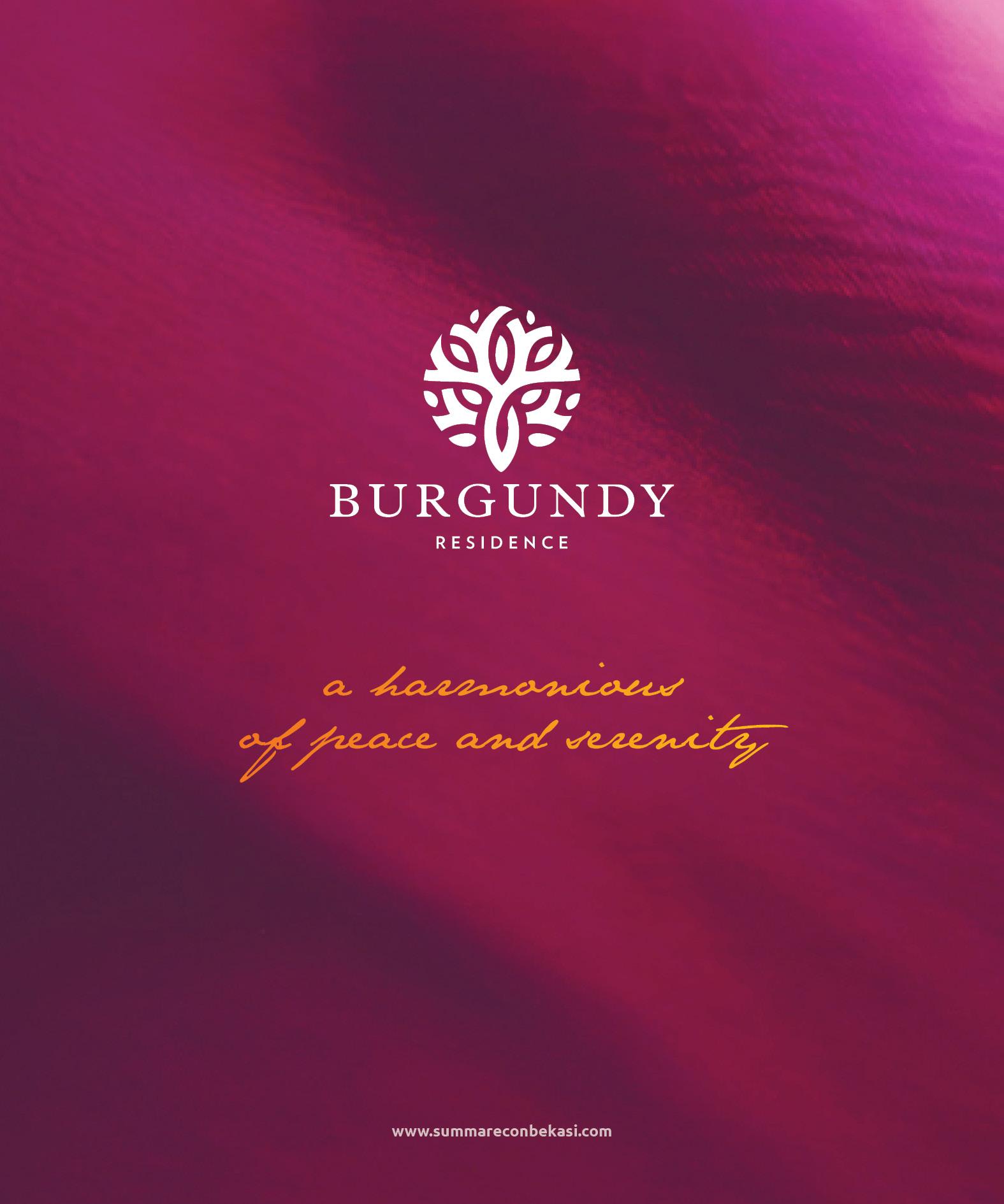 Brochure Burgundy