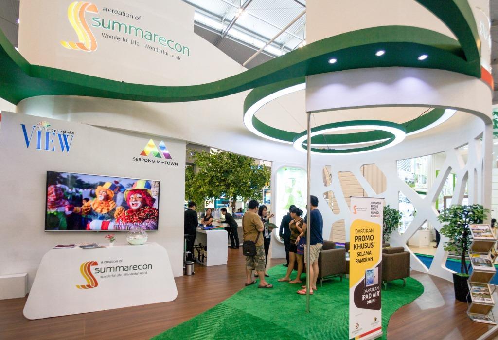 Summarecon Hadir di Indonesia Future City & REI Mega Expo 2017