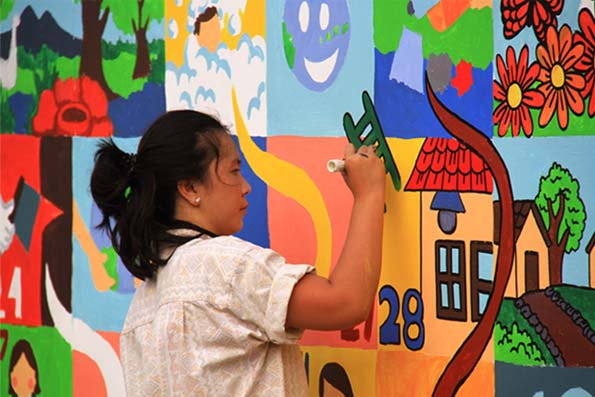 Summarecon Serpong Mural Competition 2015