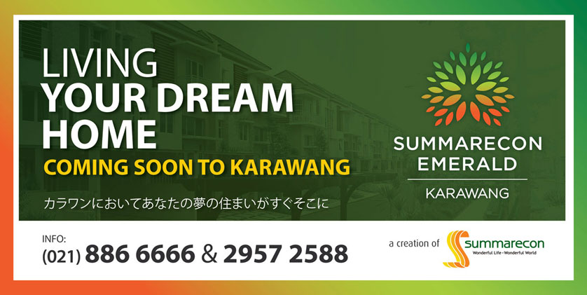 Pre-Launch Summarecon Emerald Karawang (SEKAR)