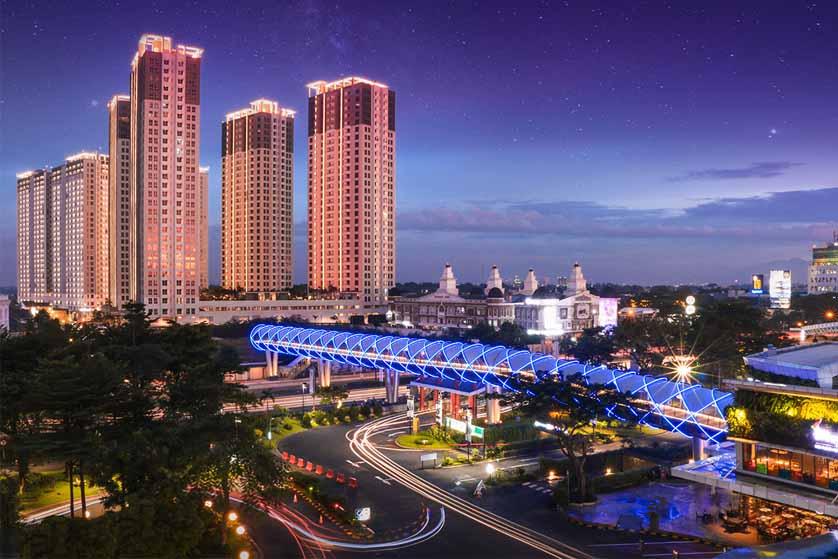 Skybridge Serpong M-Town Resmi Beroperasi