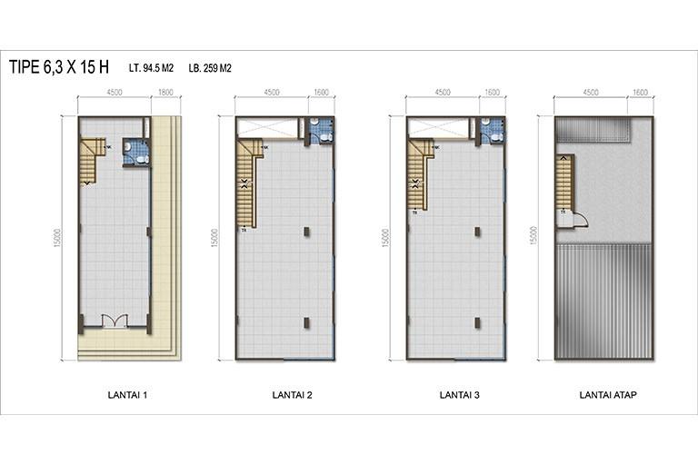 Summagung Commercial Type HOEK 6.3x15