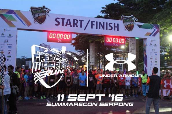 Serpong Green Warrior Run 2106 (SGWR 2016)