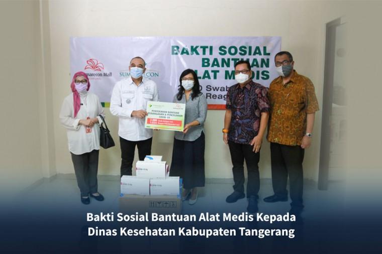 CSR Summarecon Serpong dengan Dinkes Tangerang