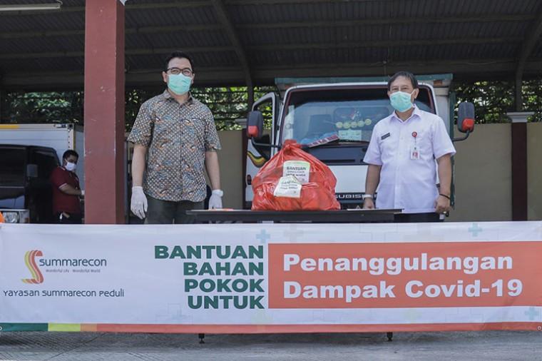 Bantuan 1.000 Bahan Pokok Sebagai Penanggulanggan Dampak Pandemi Covid-19