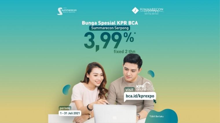 Summarecon Serpong Turut Hadir di BCA KPR Online Expo 2021