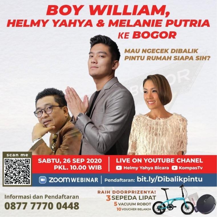 Mau ngecek DIBALIK PINTU rumah siapa nih di Bogor?