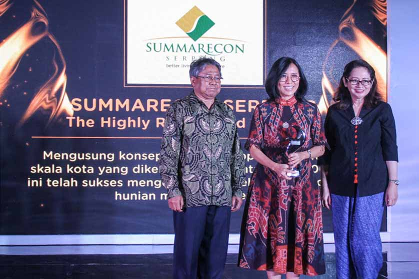 Summarecon Serpong Mendapat Penghargaan dari Properti Indonesia Award 2017