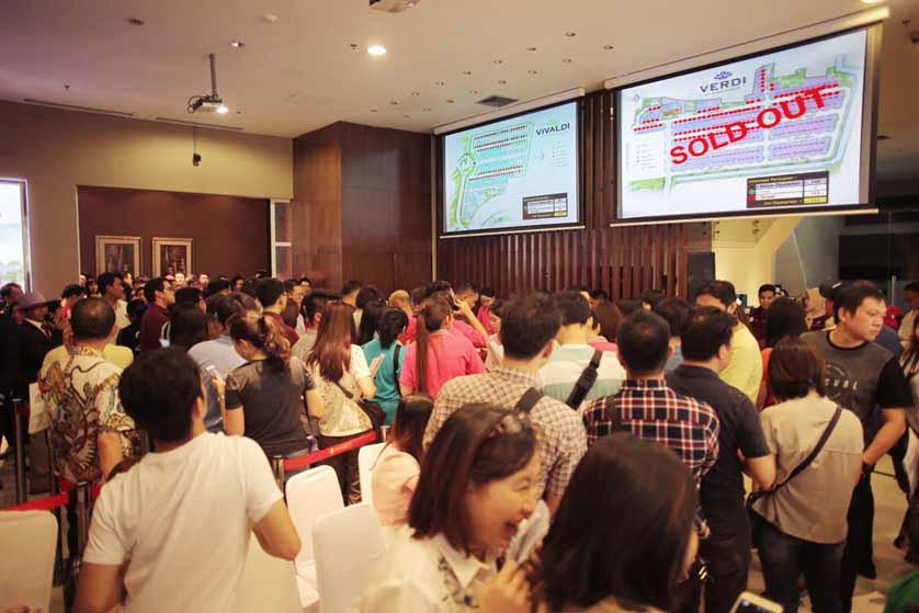 Summarecon Serpong Sukses Dalam  Penjualan Perdana Symphonia