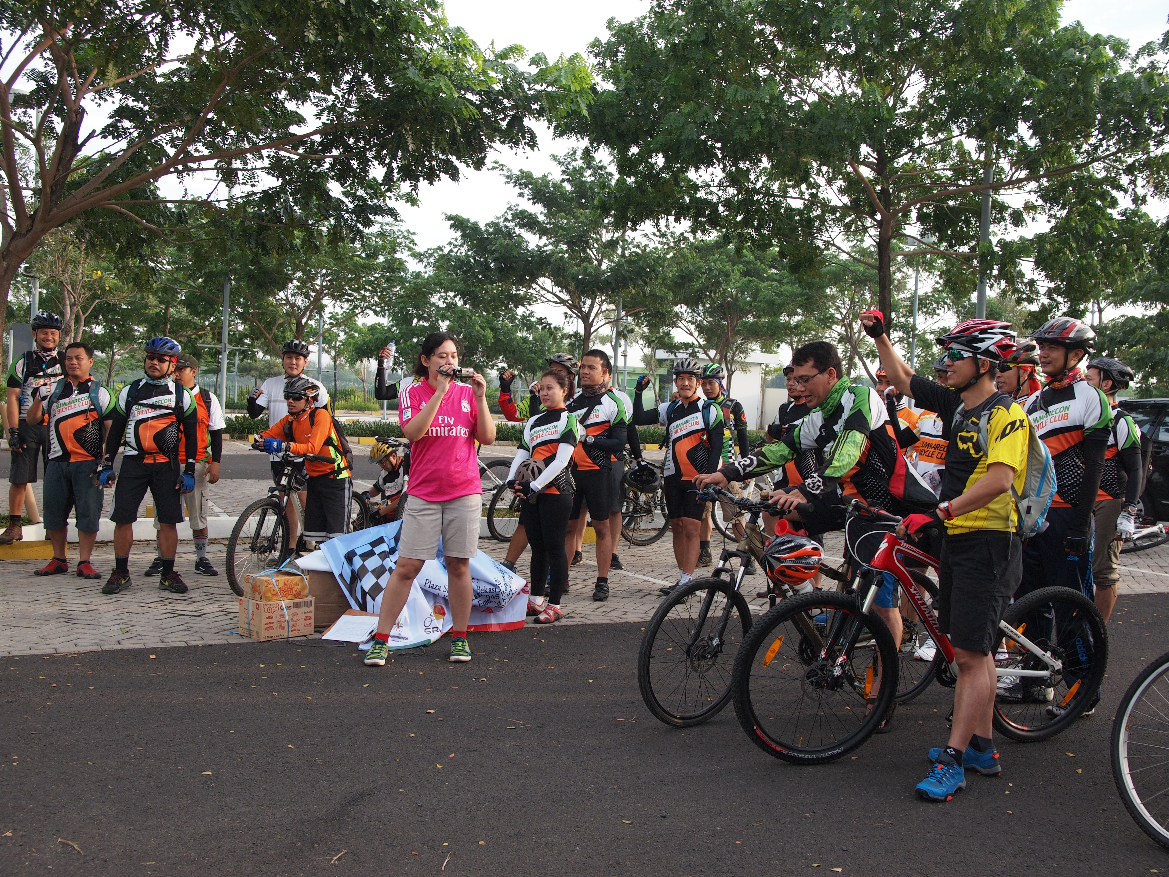 Summarecon Bicycle Club Gowes Bareng