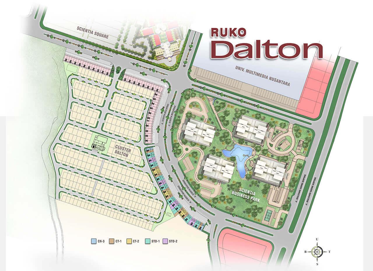 Ruko Dalton Commercial Summarecon Serpong